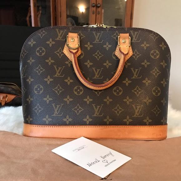 Louis Vuitton Handbags - ‼️SOLD‼️Authentic Louis Vuitton Alma Pm Monogram
